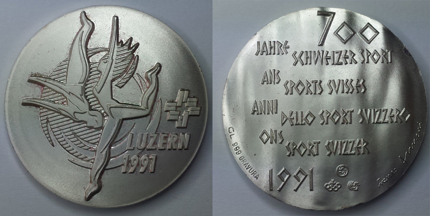 Franco Annoni Medaille - Silber
